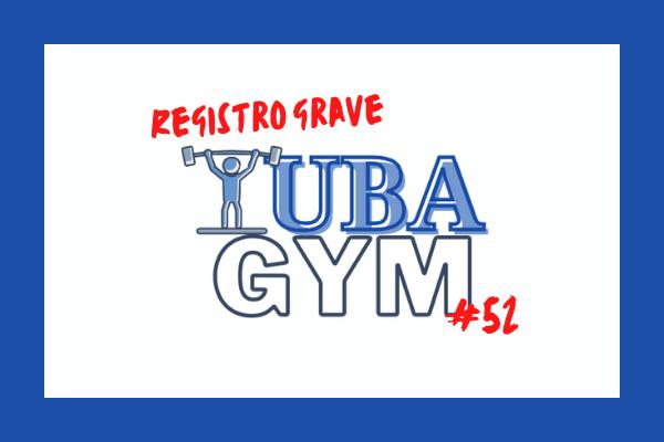Tuba Gym 52 en el que trabajamos el registro grave y pedal